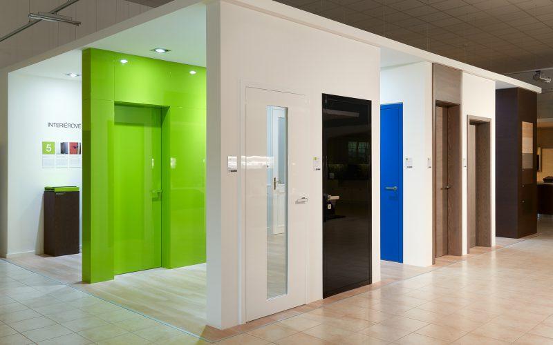 Nová expozice interiérových dveří v Design Centru v Popůvkách